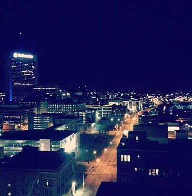 Downtown Columbus night