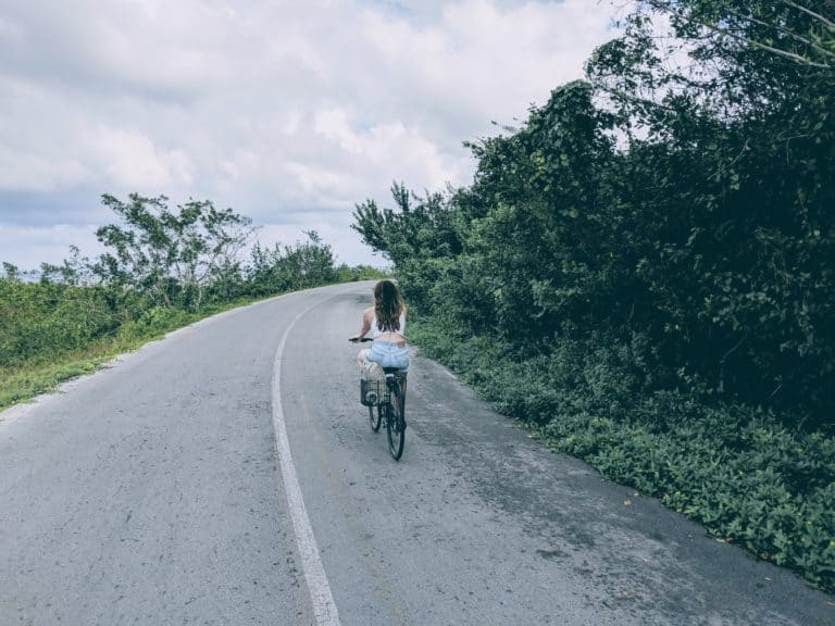 Cycling in Cozumel